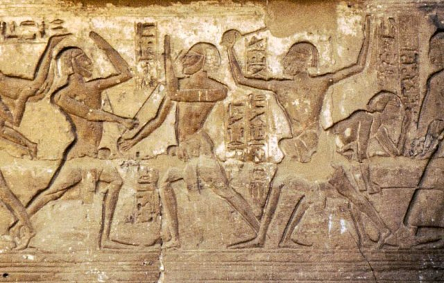 Egyptian Stick Fencers
