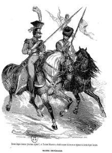 An example of Napoleonic-era lancers