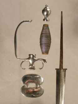 Made by Bostonian Silversmith, William Cowell  Jr., ca. 1750
