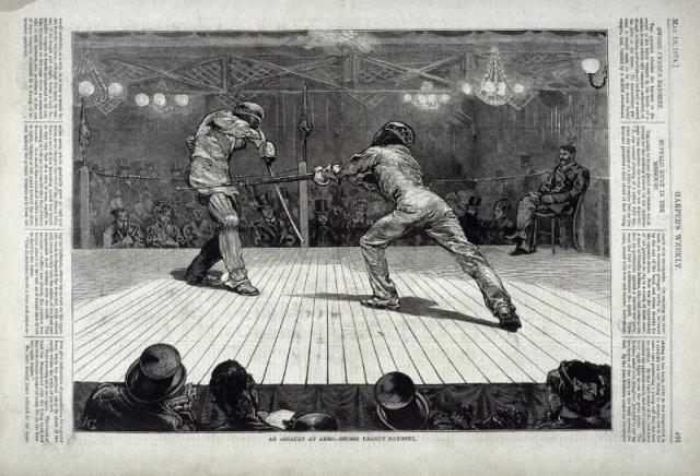 An Assault at Arms - Sword Versus Bayonet