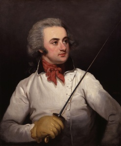 Henry Angelo by Mather Brown, 1790.